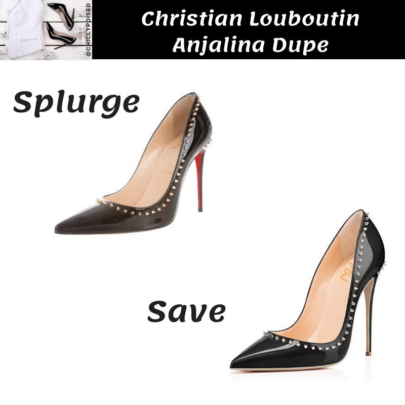 Save On Christian Louboutin Anjalina Heels Dupe