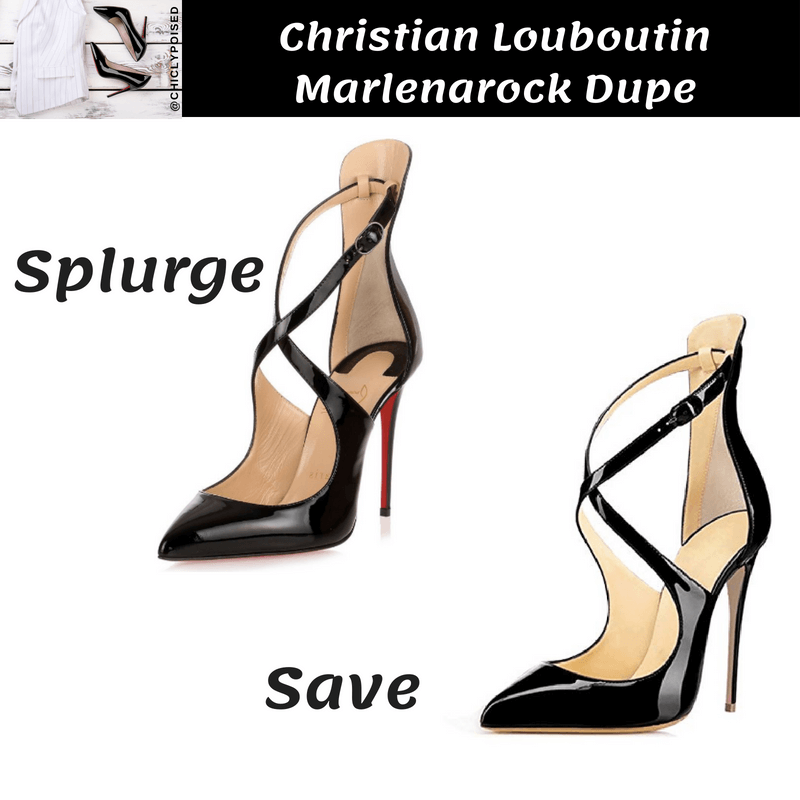 Save On Christian Louboutin Marlenarock Heels Dupe