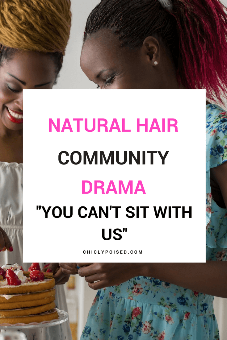 You Can't Sit With Us | Chiclypoised.com