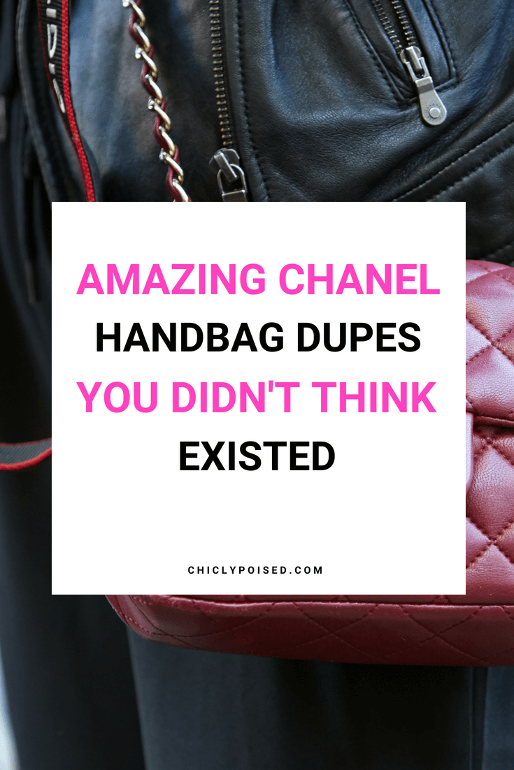 Amazing Chanel Dupes