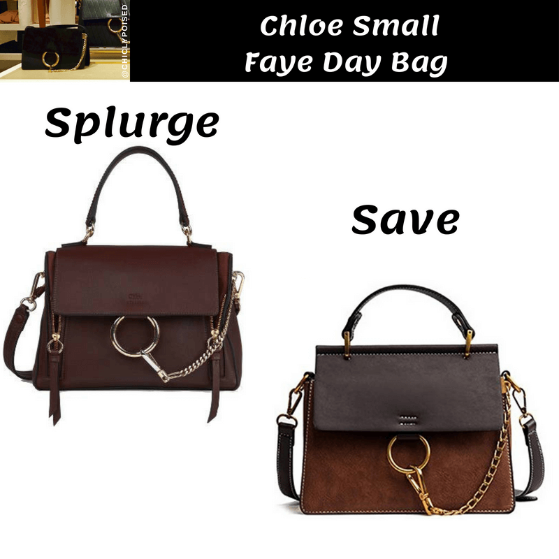 Best Chloe Small Faye Day Bag Dupe