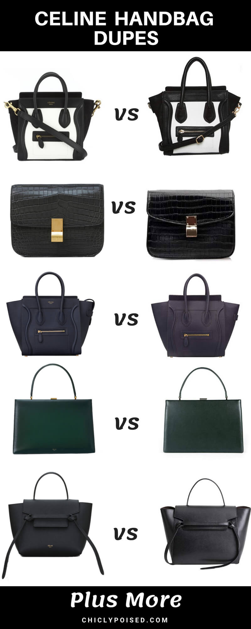 Celine Bags Dupes Save Money