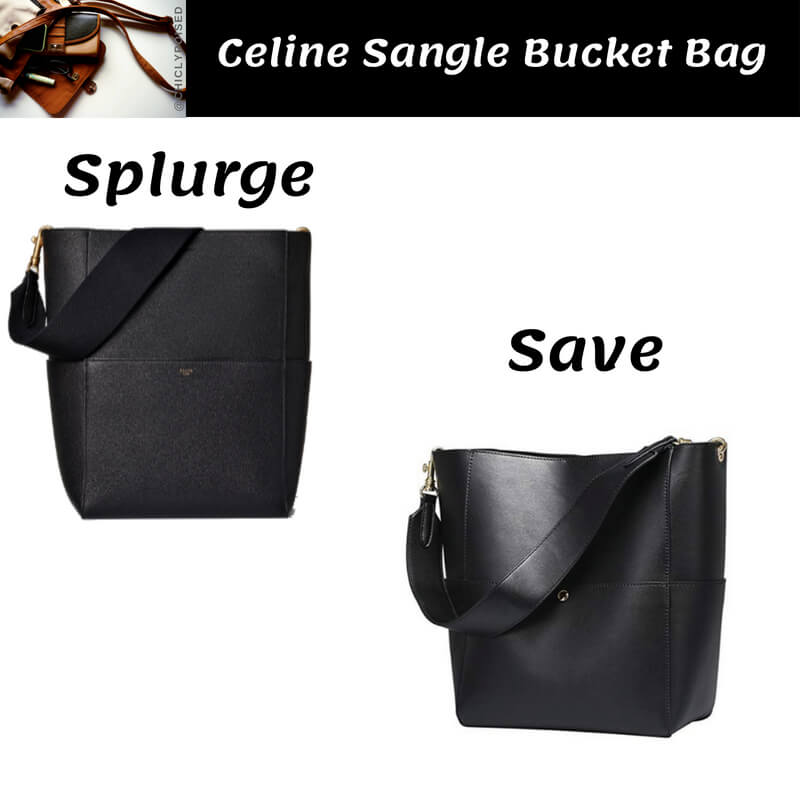 Celine Bucket Bag Dupe