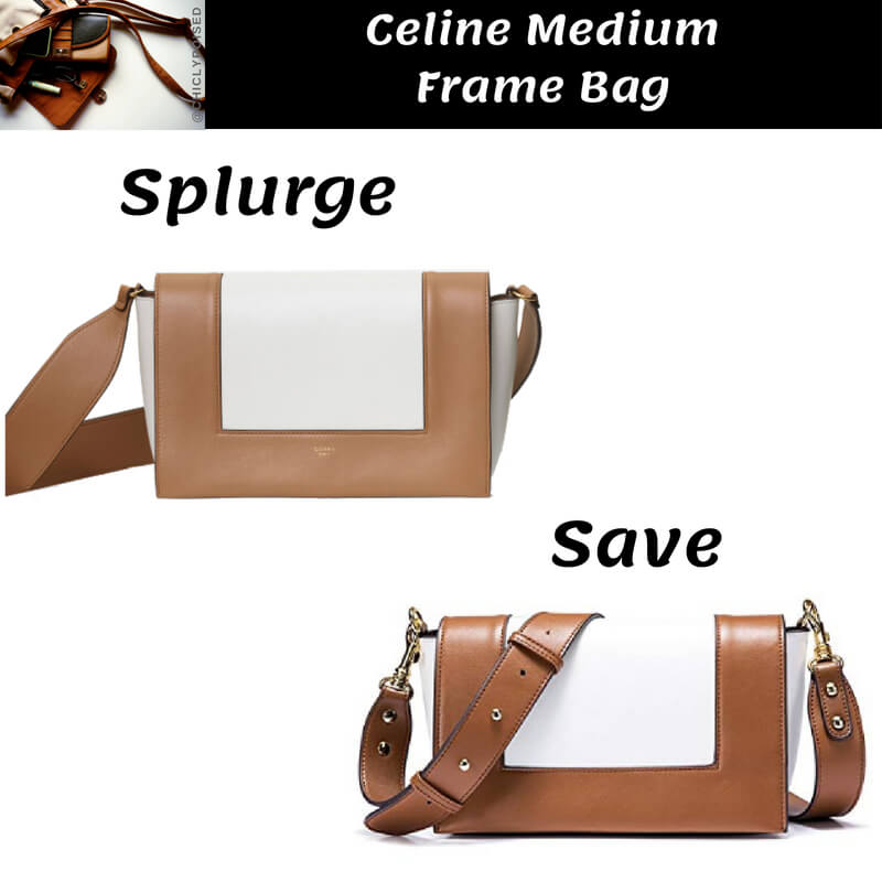 Celine Medium Frame Bag Dupe