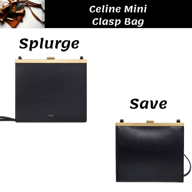 Celine Mini Clasp Bag Dupe