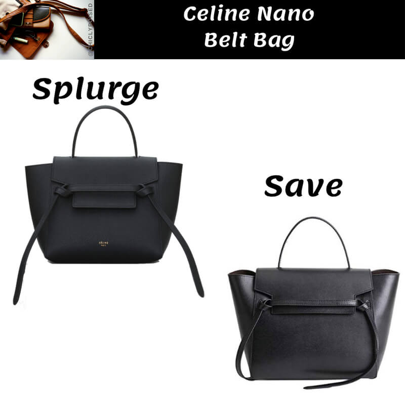 Celine Nano Belt Bag Dupe