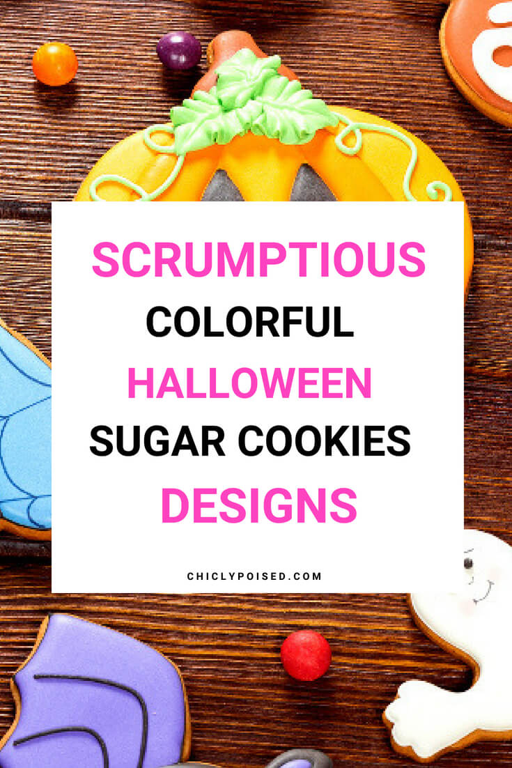 Cute Gingerbread Halloween Cookie Designs
