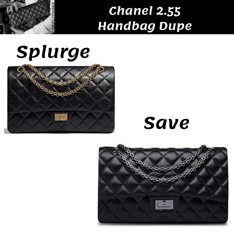 Save Money Chanel 2.55 Handbag Dupe