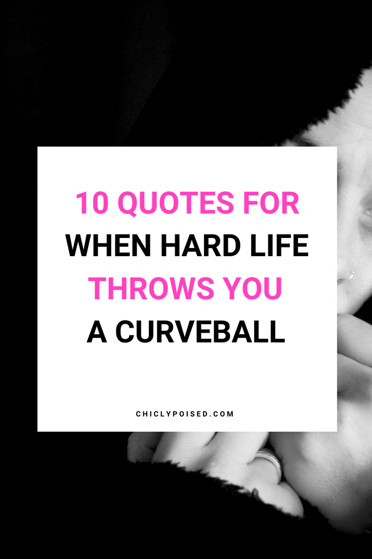 When Life Throws You A Curveball