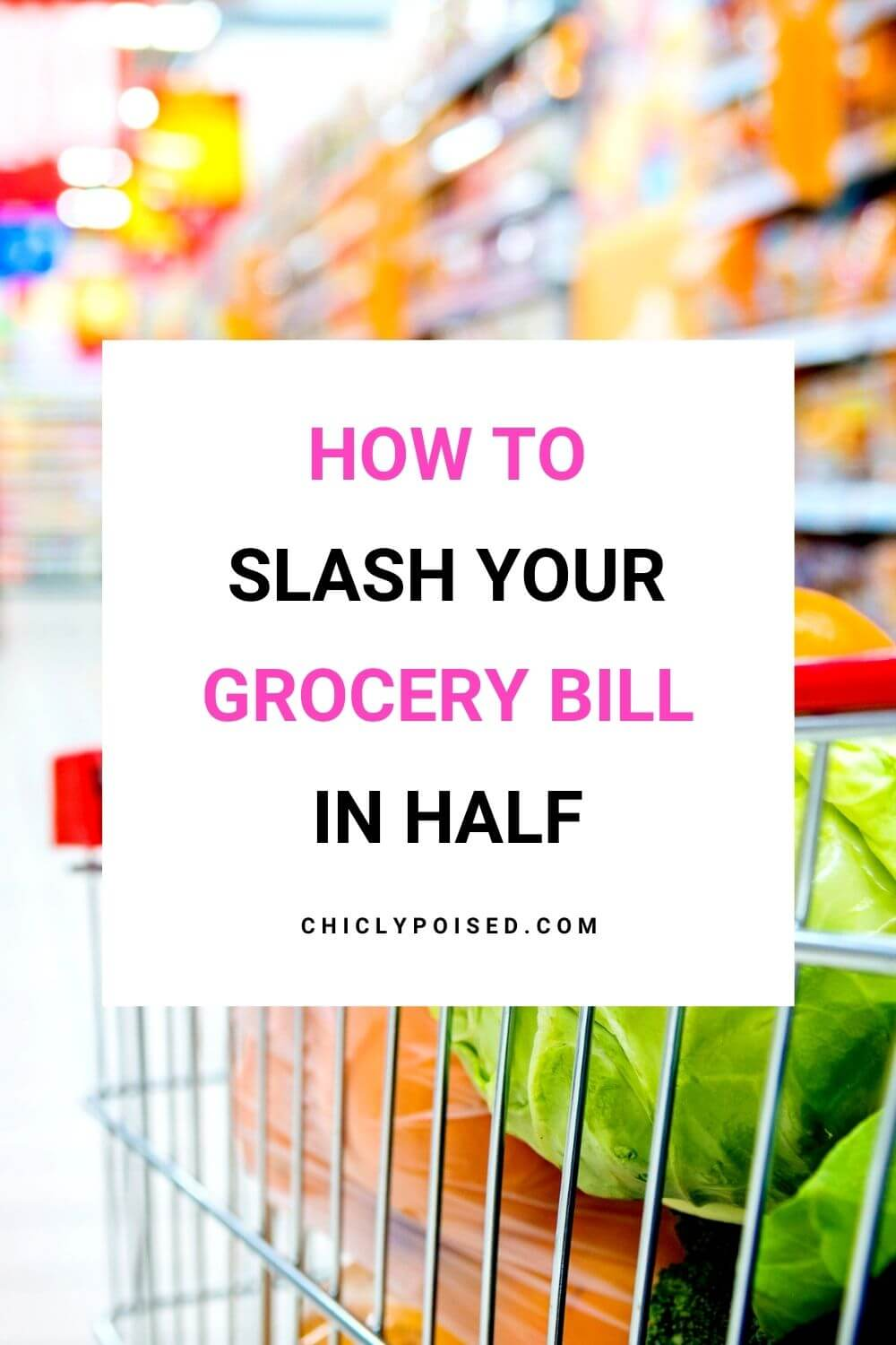 How to cut your grocery bill in half 2 of 4