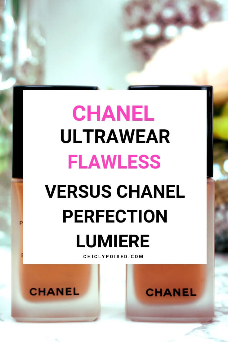 Chanel Ultrawear Flawless Vs Chanel Perfection Lumiere