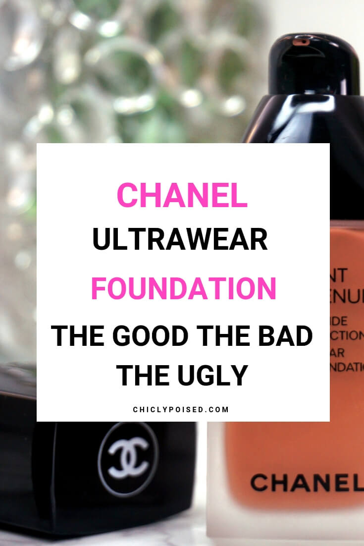 Chanel Ultrawear Foundation Review