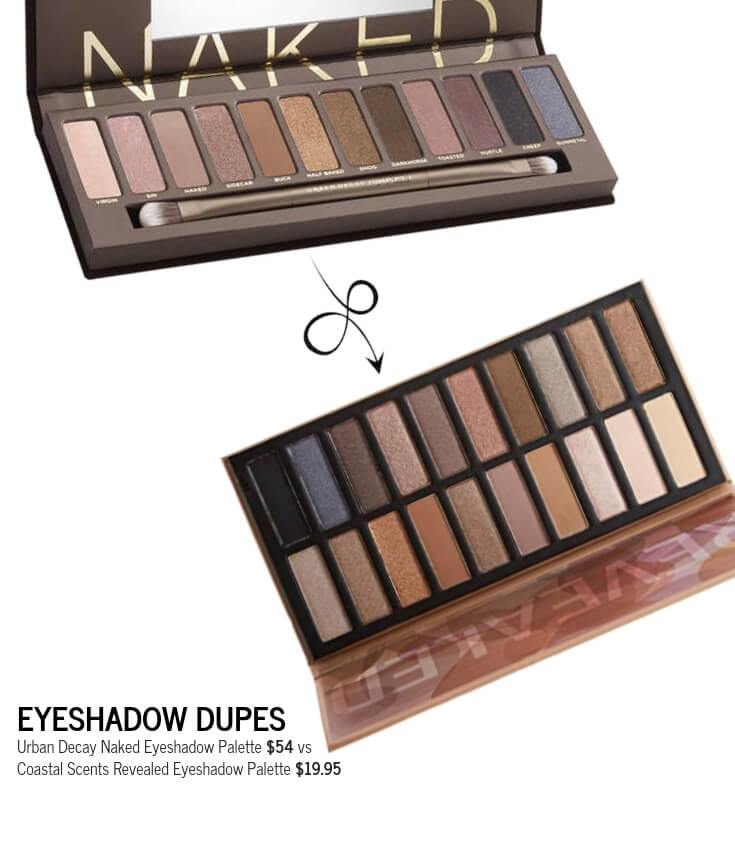 Coastal Scents Revealed Eyeshadow Palette Dupe for Urban Decay Naked Eyeshadow Palette