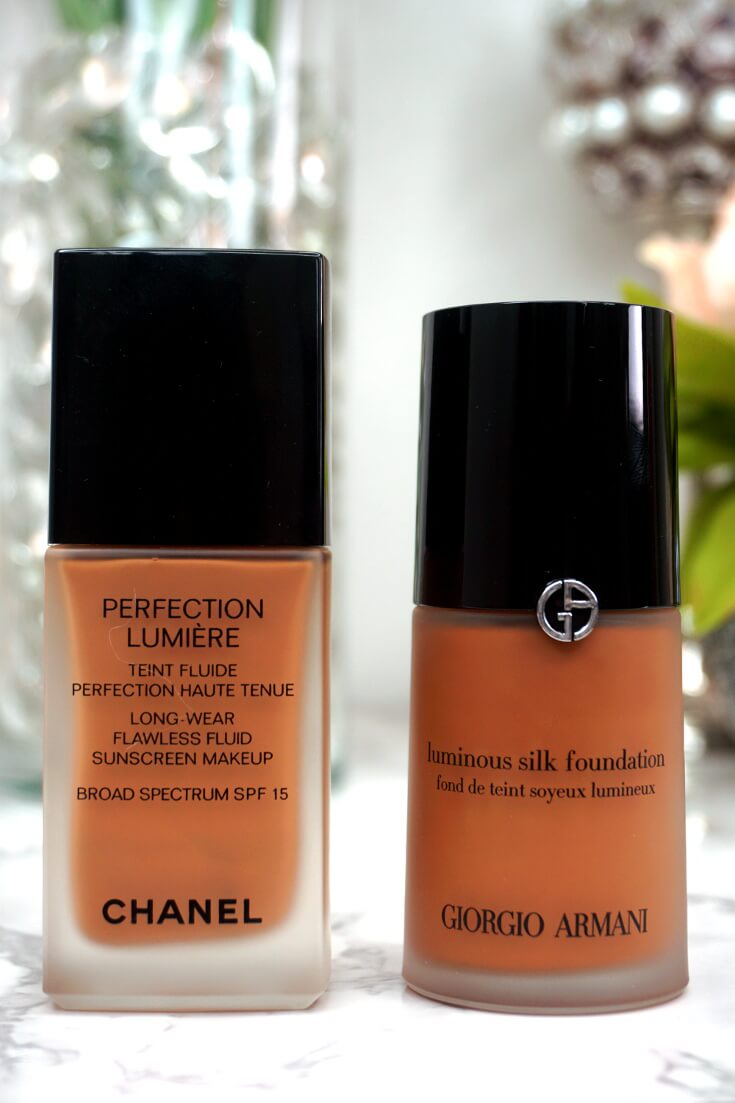Giorgio Armani Luminous Silk Foundation Dupe