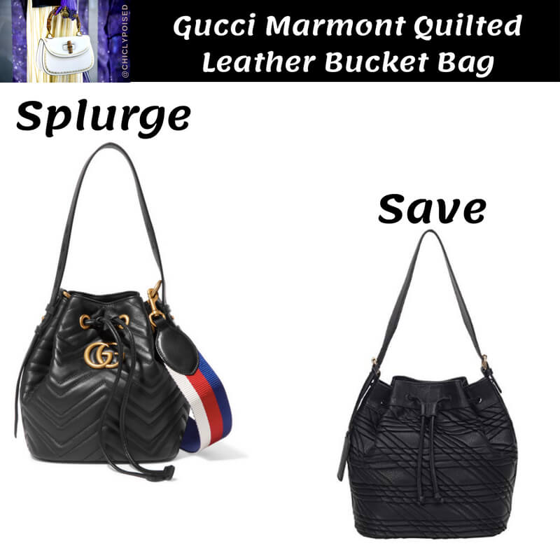 Gucci Bucket Bag Dupe