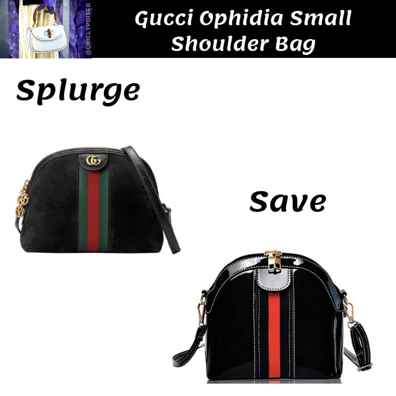 Gucci Ophidia Small Shoulder Bag Dupe