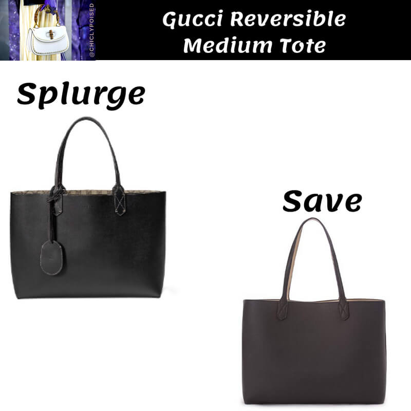 Gucci Reversible Tote Dupe