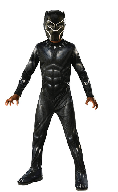 Halloween Boys Black Panther Costume