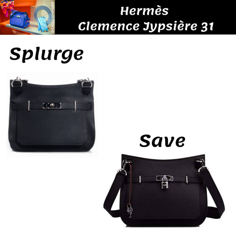 Hermes Jypsiere 31 Bag Dupe
