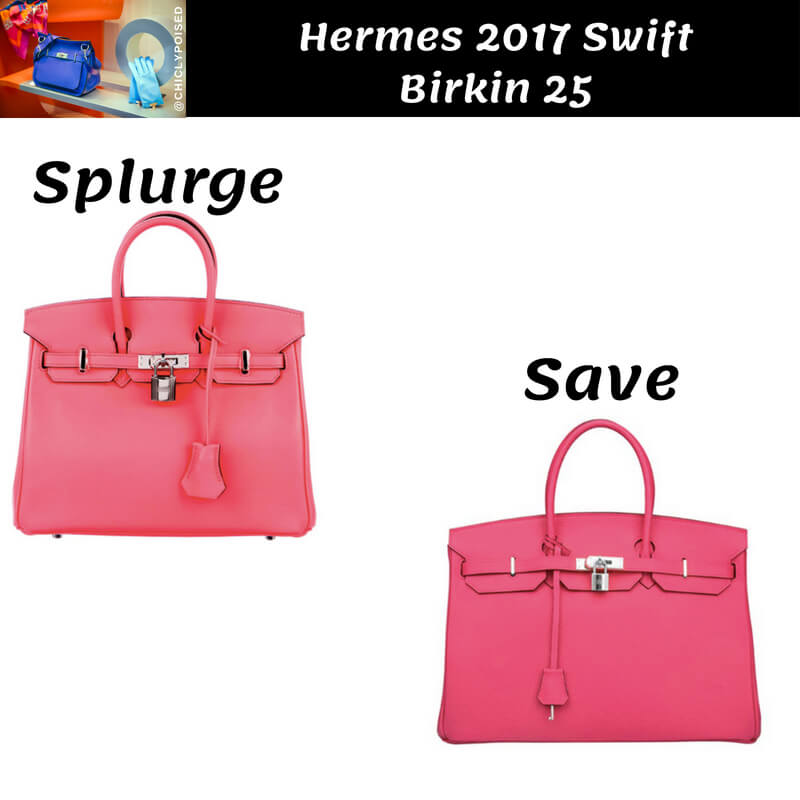 Hermes Swift Birkin Dupe