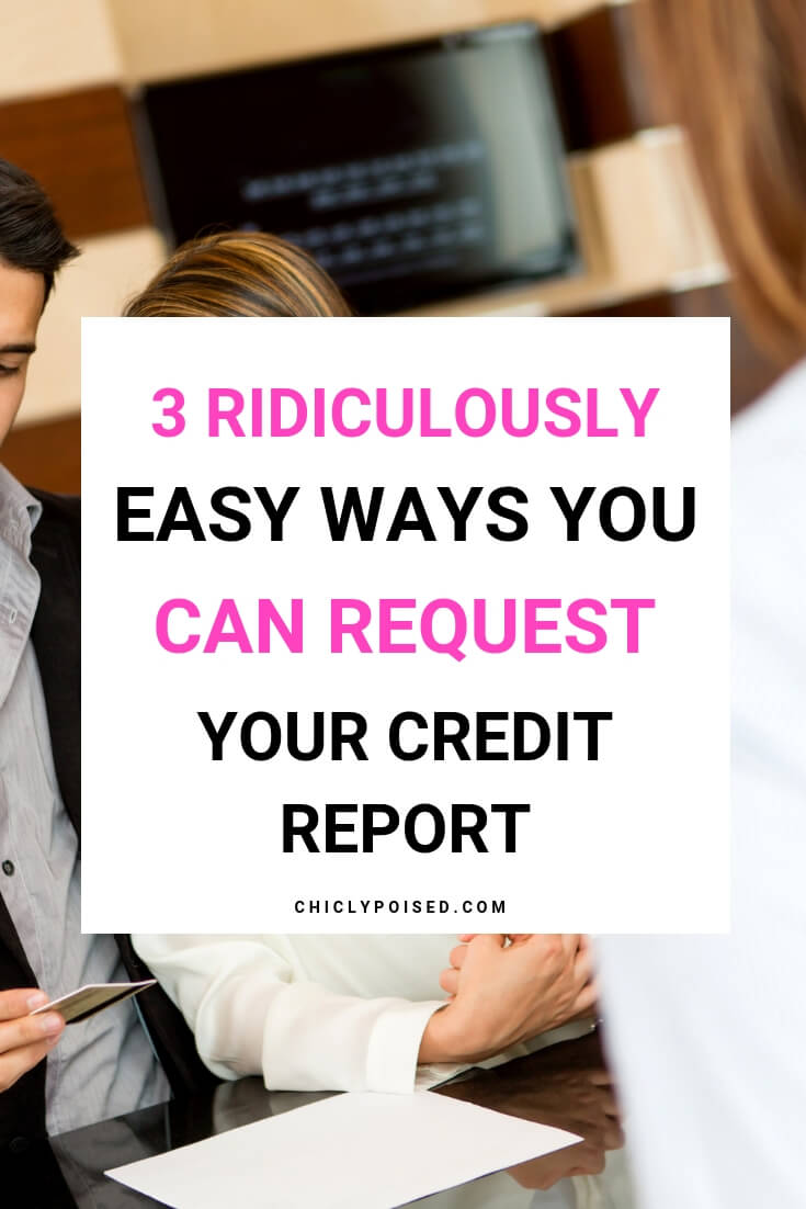 How To Pull Your Credit Report