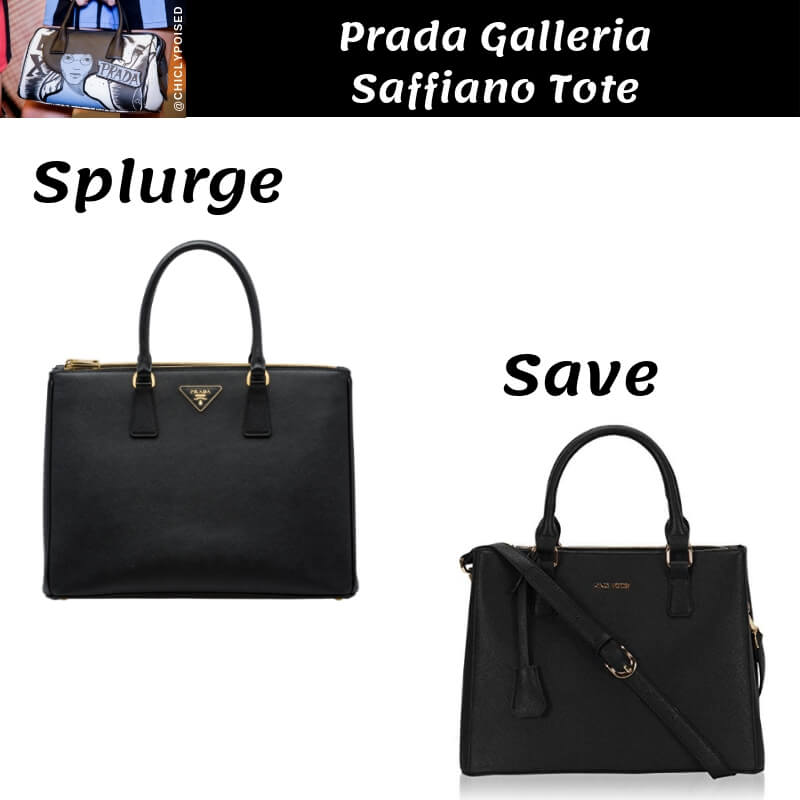 Save Money With Prada Galleria Saffiano Tote