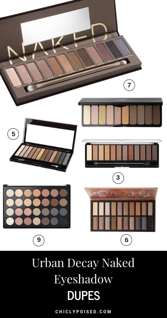 Urban Decay Naked Eyeshadow Palette Dupes You Need To Try