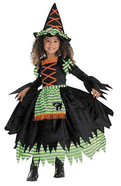 Witch Girls Halloween Costume