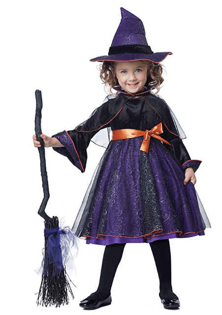 Witch Girls Halloween Costumes