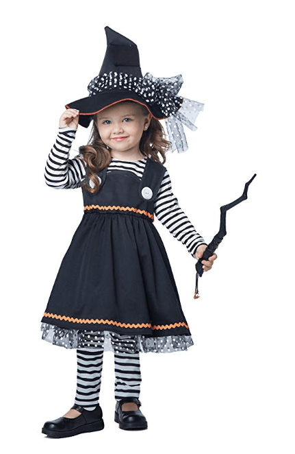Witch Girls Toddler Halloween Costume