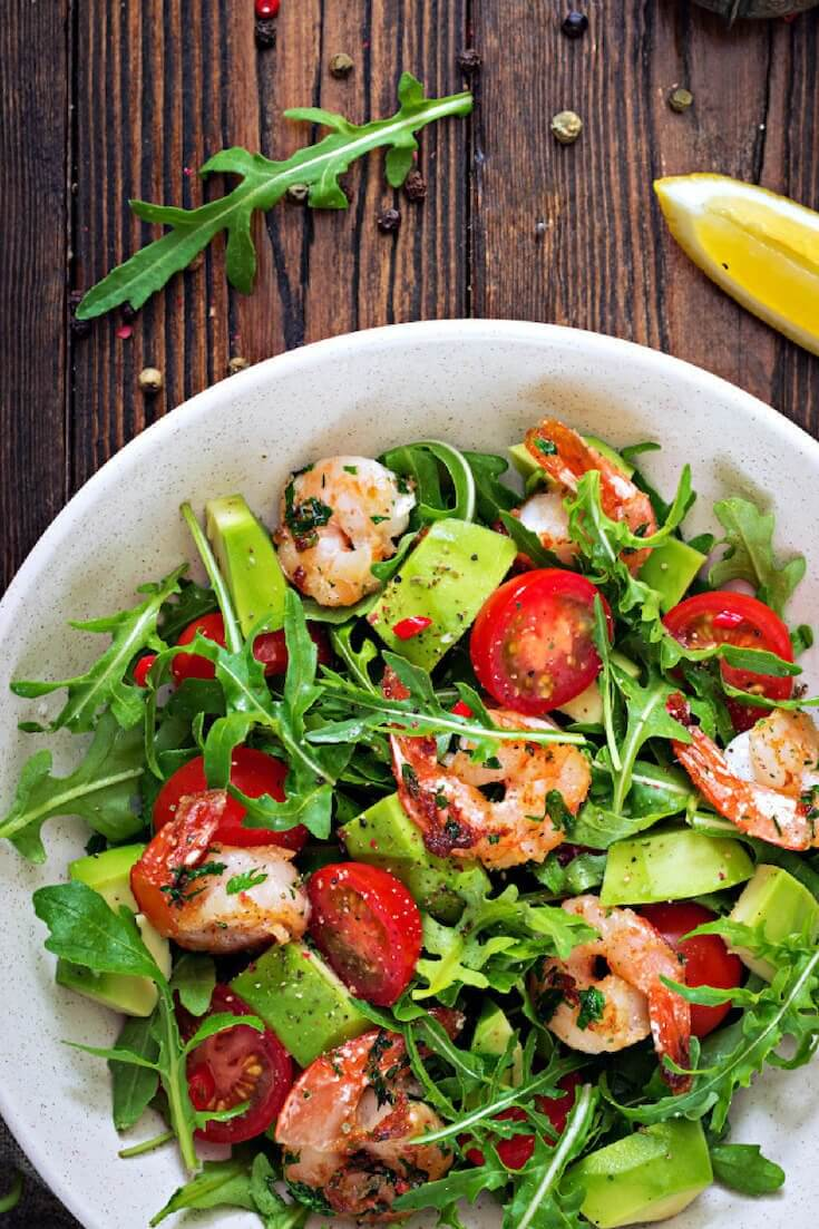 26 Delicious Grilled Shrimp Salads Perfect For Meal Preps