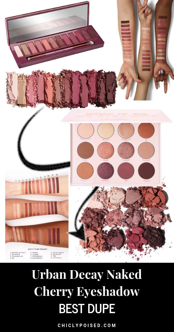 Best Urban Decay Naked Cherry Eyeshadow Palette Dupe