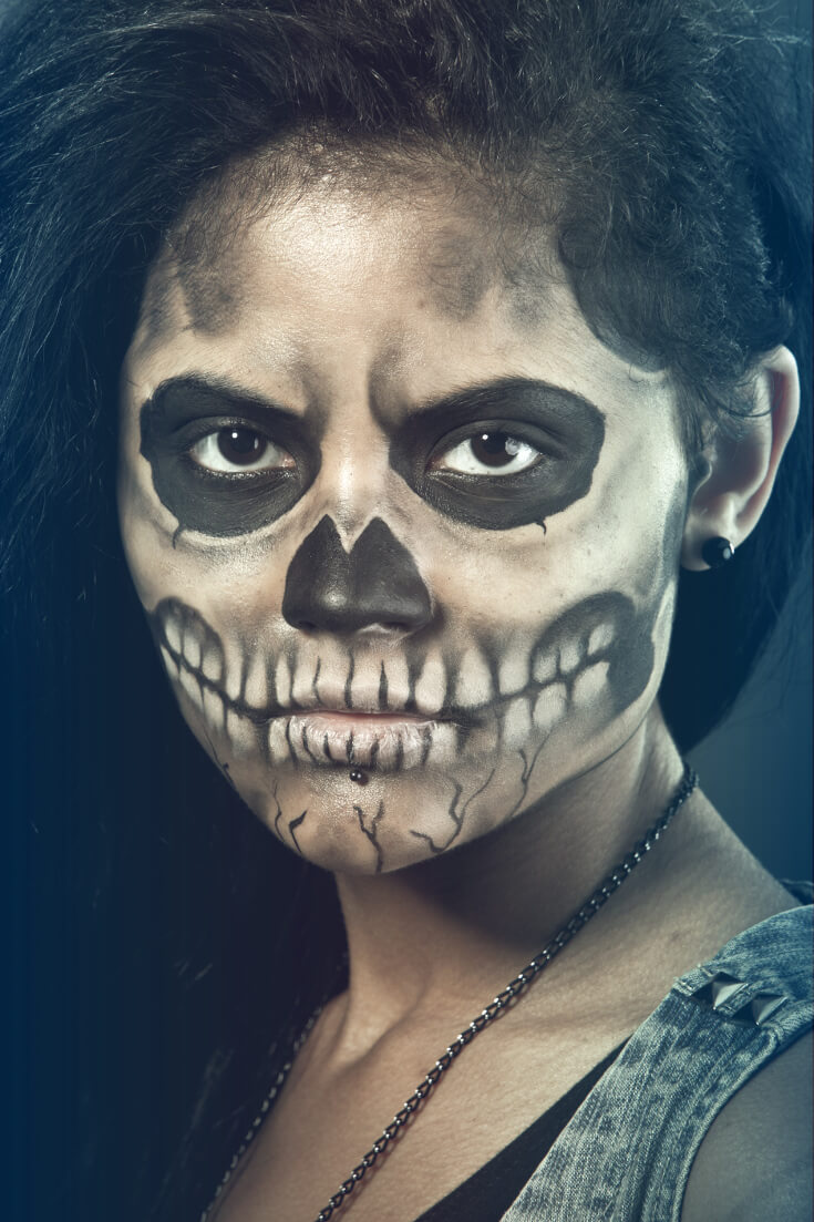 Halloween Makeup Daring Look 7