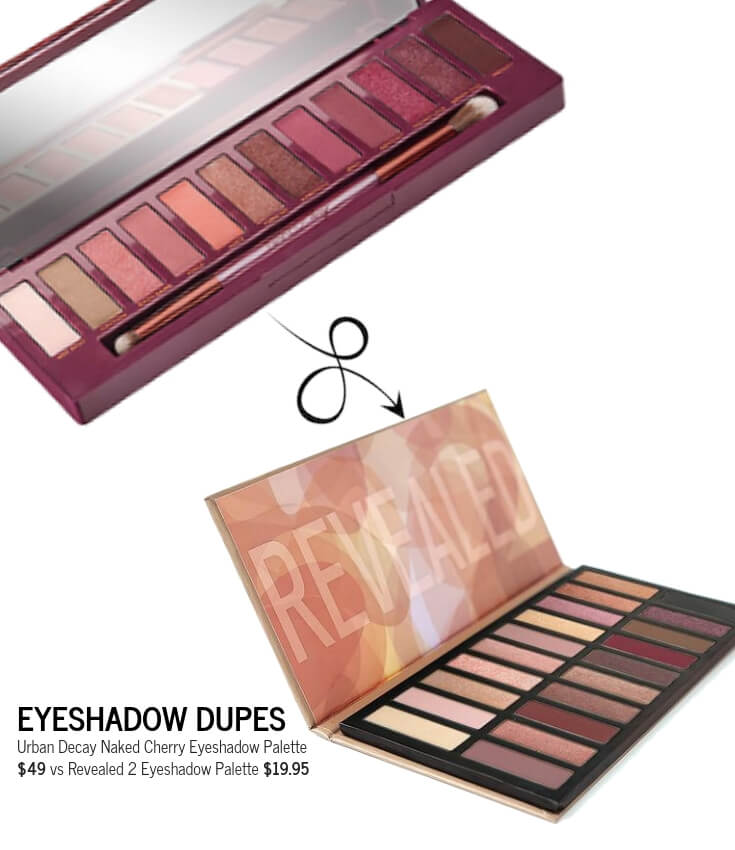 Revealed 2 Eyeshadow Palette Dupe for Urban Decay Naked Heat Palette