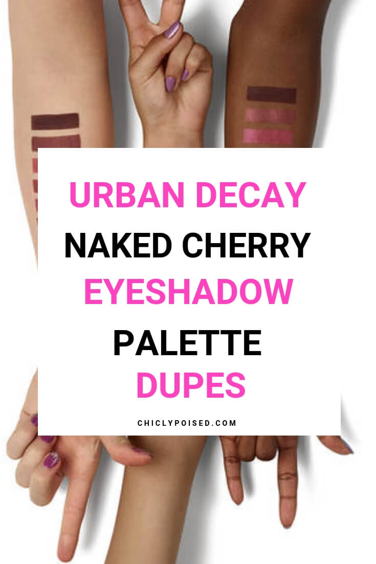Urban Naked Cherry Palette Alternatives