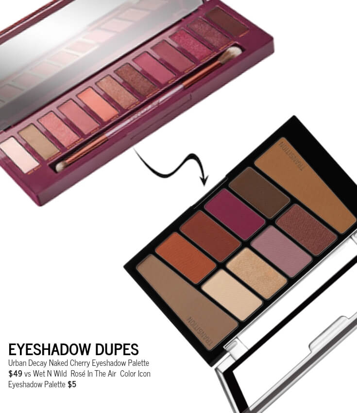 Cherry Eyeshadow Palette Dupes