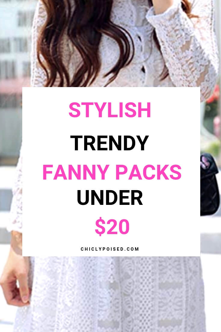 15 Stylish Fanny Packs Under $20 For Traveling Light Every time