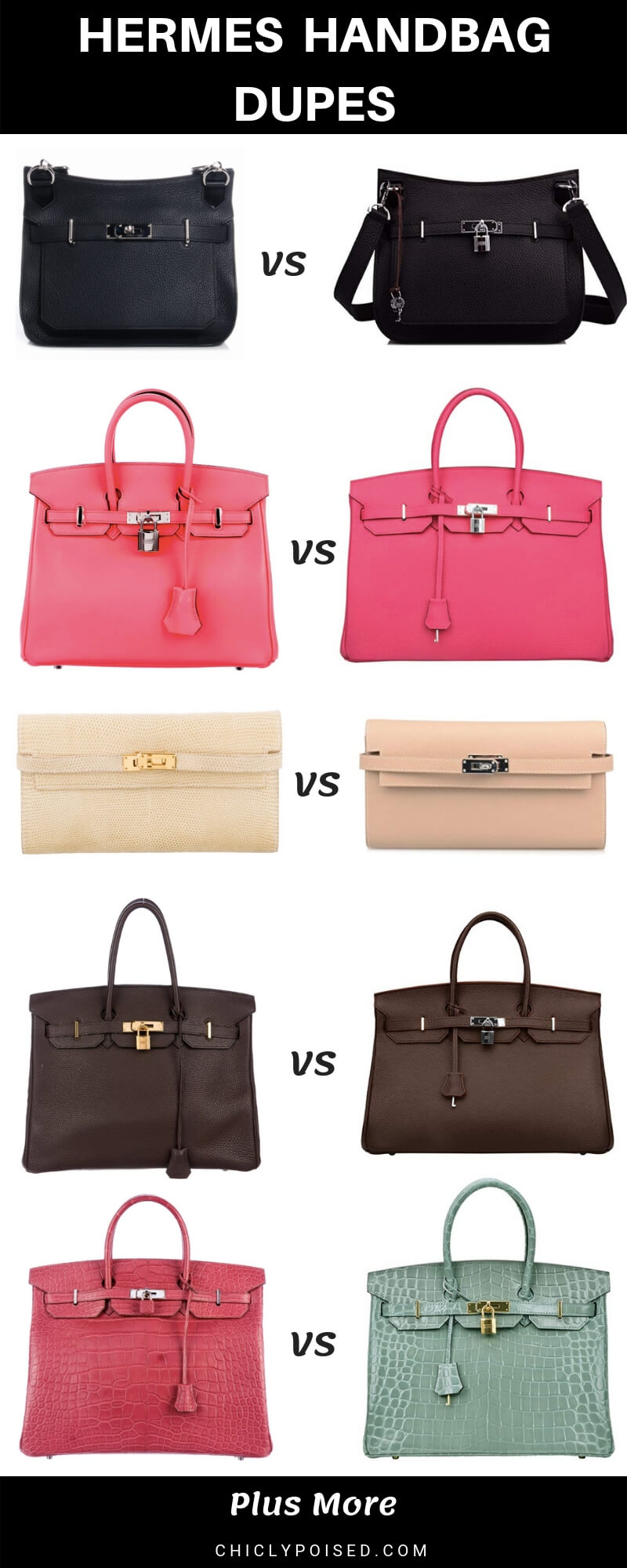 Hermes Bag Dupes