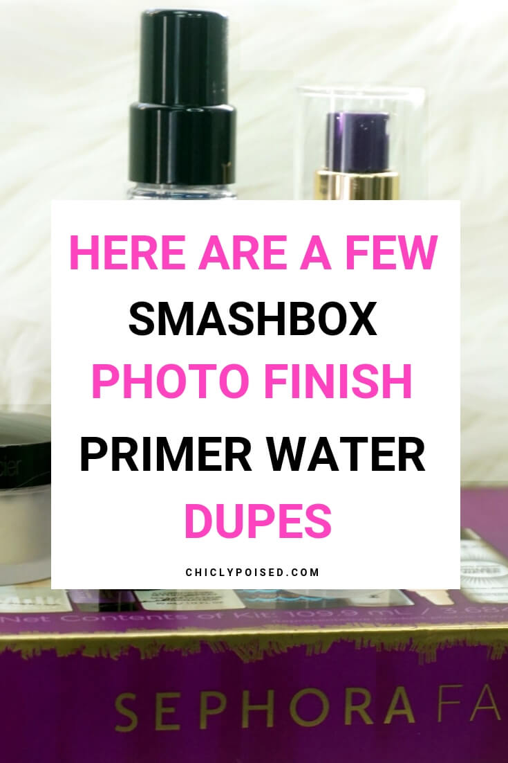 Smashbox Dupes