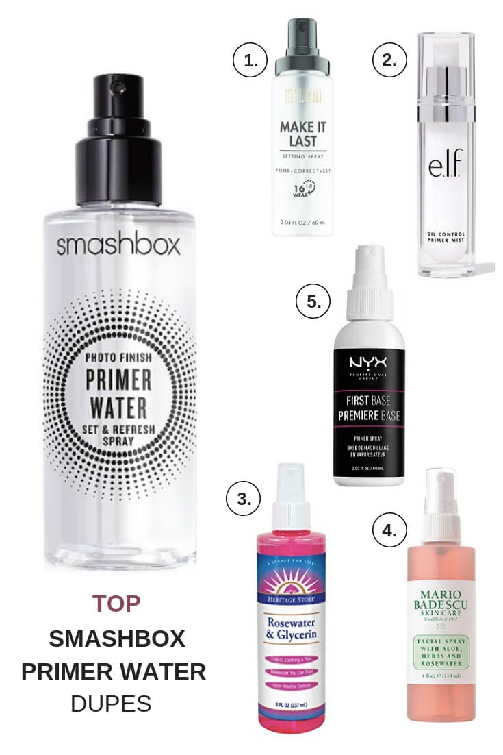 Smashbox Primer Water Dupes To Try