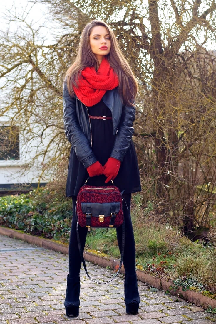 Stylish Inspirational Fall Outfits and Fall Styles To Copy -17