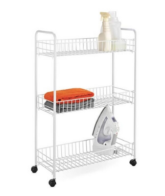 Easy To Assemble Laundry Cart
