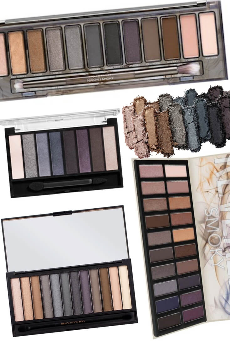 Urban Decay Naked Smoky Palette Dupes for the Discontinued Naked Smoky Palette
