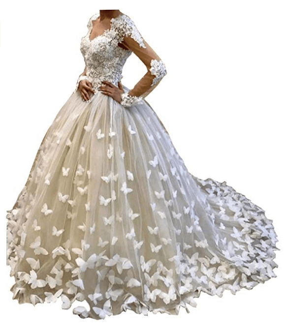 Ball Gown Wedding Dresses Under 200 Dollars-18