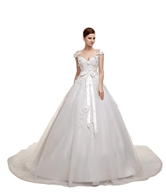 Ball Gown Wedding Dresses Under 200 Dollars-20