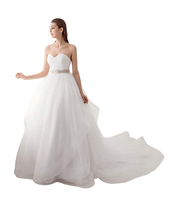 Ball Gown Wedding Dresses Under 200 Dollars-25
