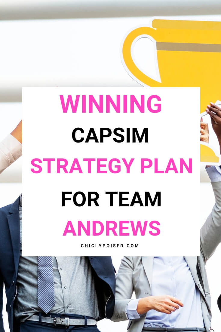 Winning Capsim Strategy Plan For Team Andrews | Chiclypoised