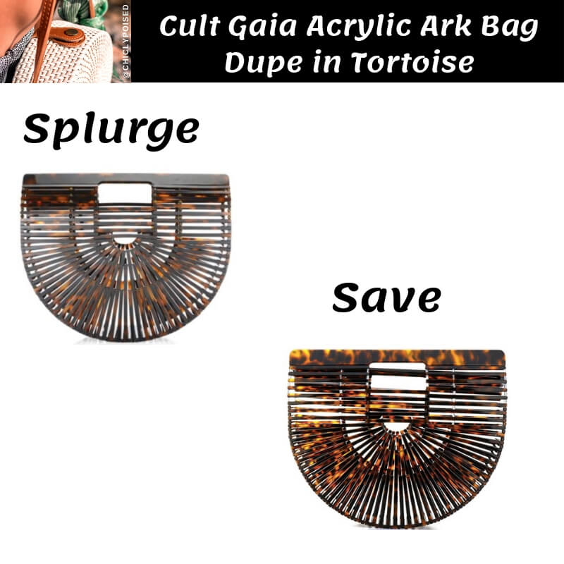 Cult Gaia Acrylic Ark Bag Dupe