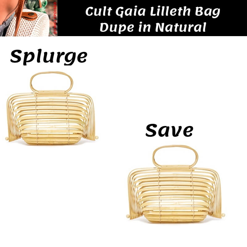Cult Gaia Lilleth Bag Dupe