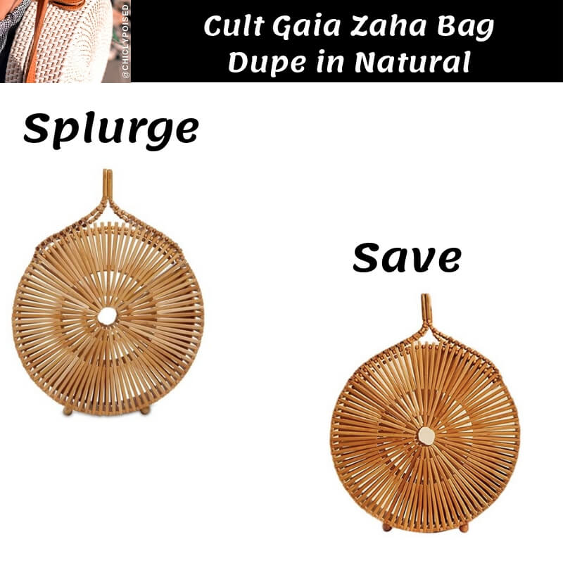 Cult Gaia Zaha Bag Dupe